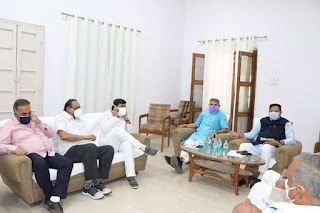 राज्य शासन के सहकारिता एवं लोक सेवा प्रबंधन मंत्री डॉ अरविंद सिंह भदोरिया छिंदवाड़ा प्रवास पर प्रेस कांफ्रेंस का आयोजन किया
