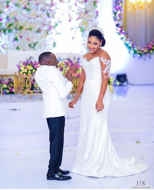 Tanzanian politician, Petro Magoti and his wife finally ties Knot(photos)