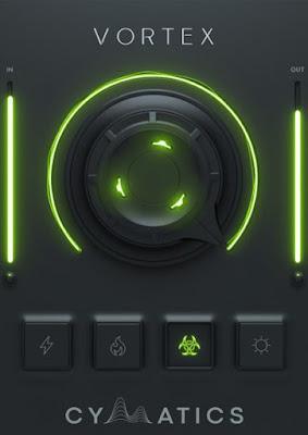 Cover Box do plugin Cymatics - Vortex 808 Enhancer 1.0.3