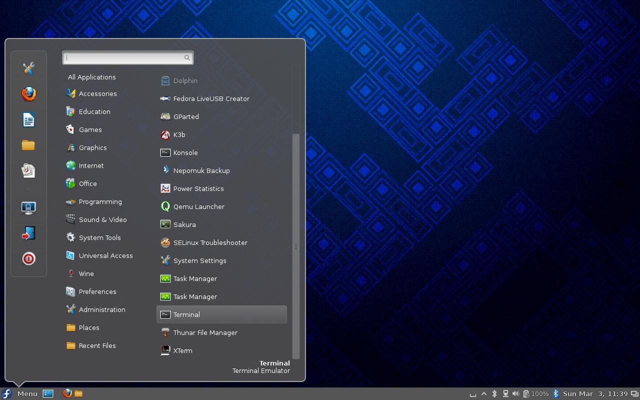 Martin's Chronicles: Fedora Desktops – Quick Look