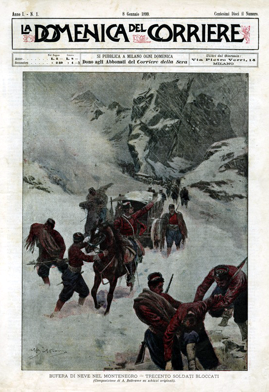 Domenica del Corriere, first issue 1899