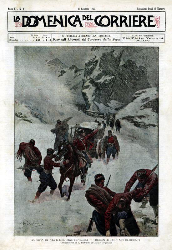 Domenica del Corriere, first issue 1899
