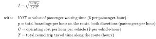 Dasar-dasar Desain dan Frekuensi Transportasi / Jaringan