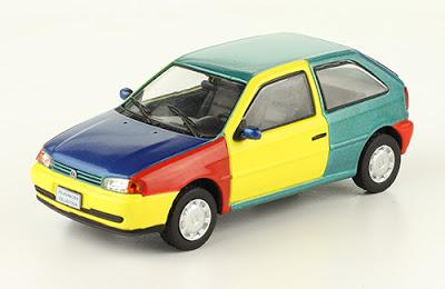 Volkswagen Gol Top 1997 autos a escala