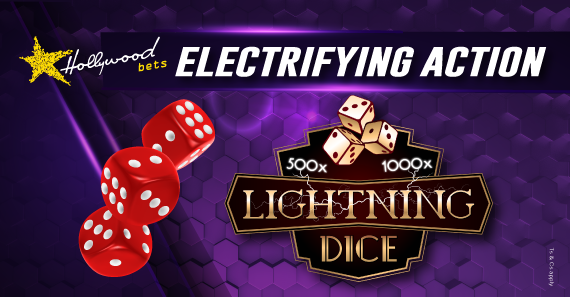 How to Play Lightning Dice with Hollywoodbets