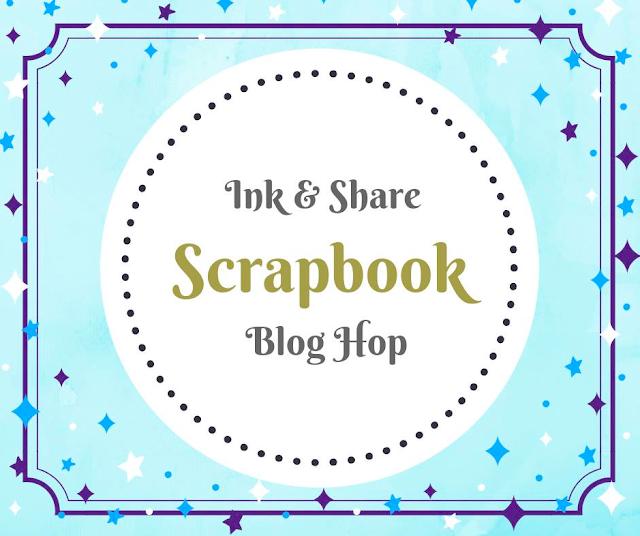 Ink & Share Scrapbook Blog Hop- Sketch