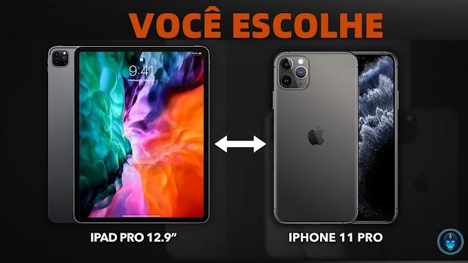 """Sorteio de um iPhone 11 Pro ou iPad 12,9 """"ou US $1.000"""