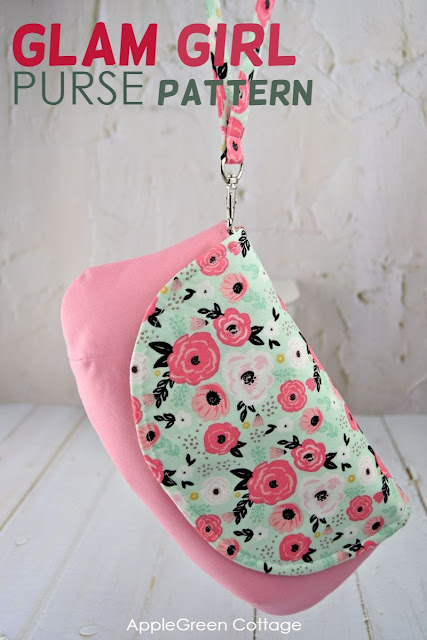 glam girl purse pattern by applegreen cottage