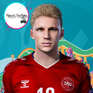 PES 2021 Faces Daniel Wass by Mamad7