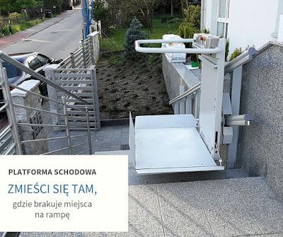 Platforma schodowa - Gdynia