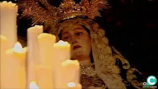 María Santísima de los Dolores (Servitas) por la Plaza del Palillero. Semana Santa Cádiz 2019