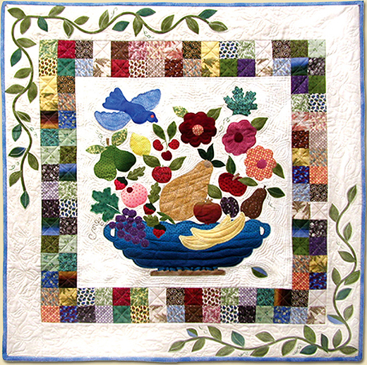 Spoken Without a Word Quilt Free Pattern designed by Elly Sienkiewicz of Robert Kaufman