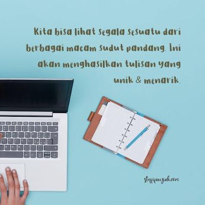 Menulis Tanpa Rewrite