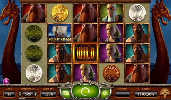 Main Gratis Slot Indonesia - Vikings Go Wild Yggdrasil