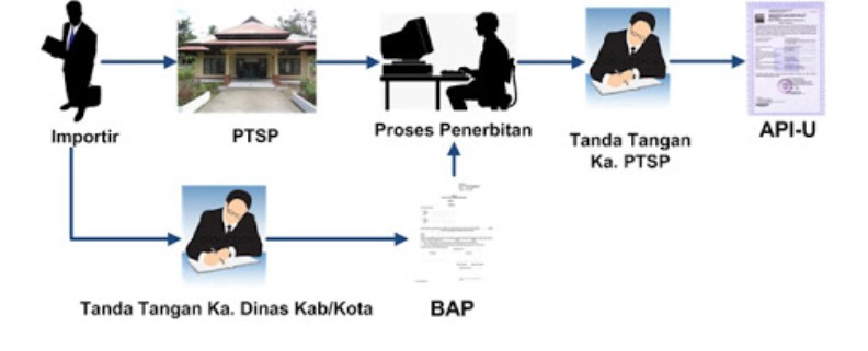 prosedur penerbitan API