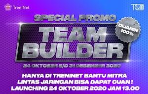 Promo Team Builder : Bikin Omsetmu Makin Meluber