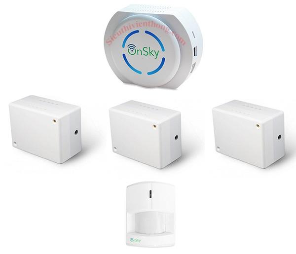 Bộ Smart Home OnSky -  thiết bị điều khiển nhà thông minh