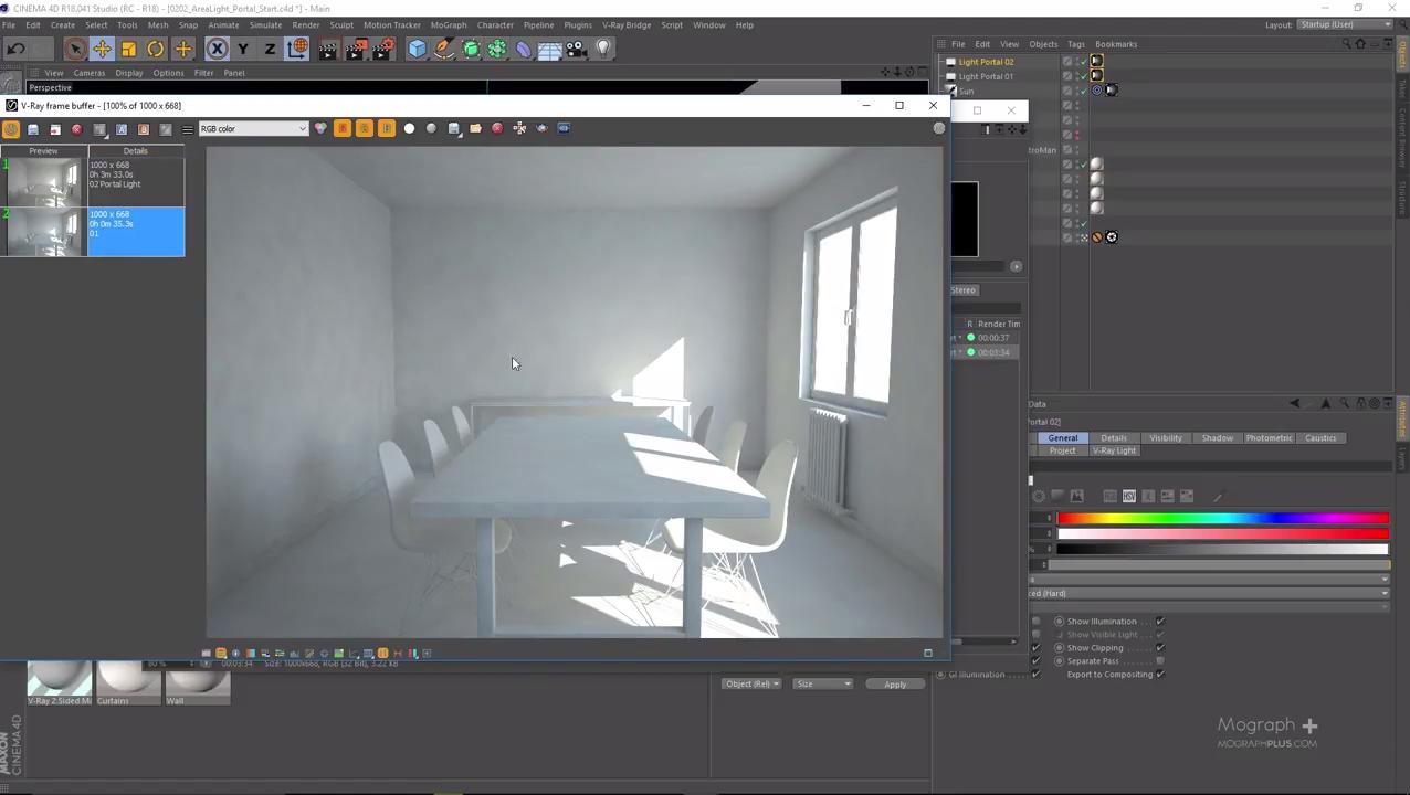 Interior Lighting & Area Lighting In Vray for Cinema 4D   CG