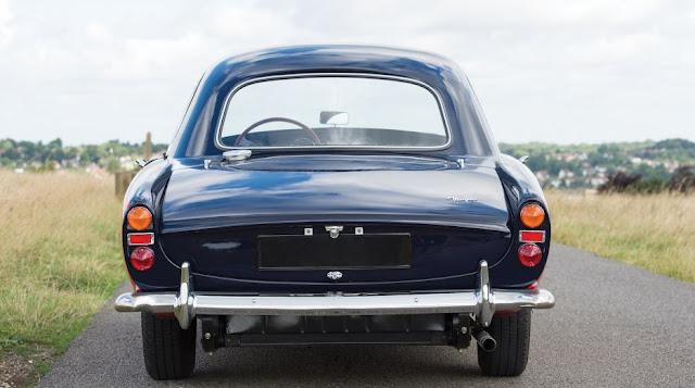 Morgan Plus 4 Plus 1964 -  El chasis A5558 es el quinto en la lista de 26 ejemplares fabricados