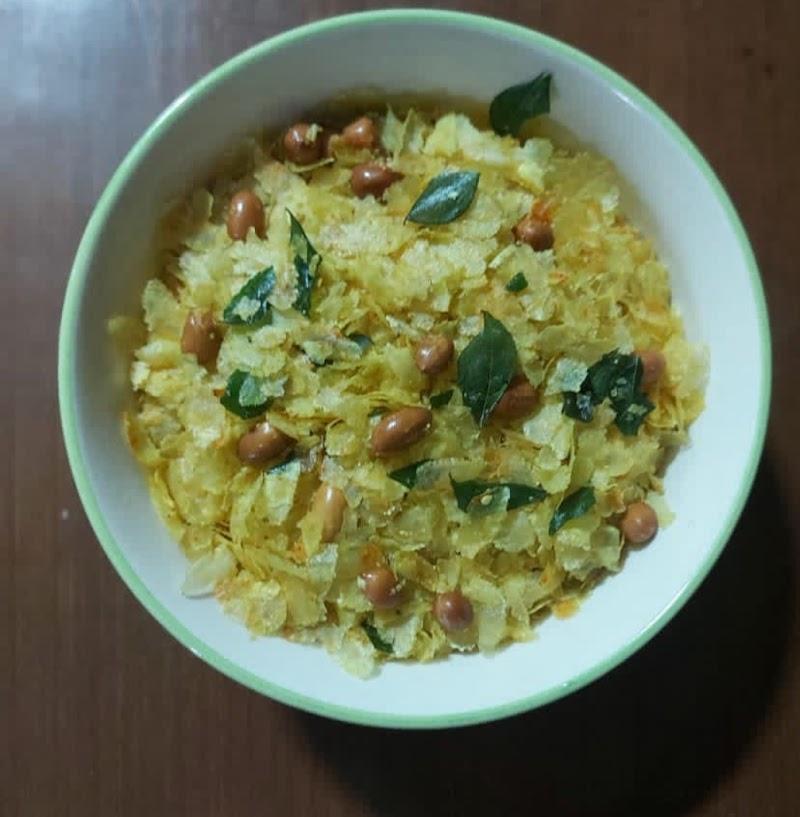 Chiwda Mixture Recipe in Hindi | Chiwda | Diwali Snacks .
