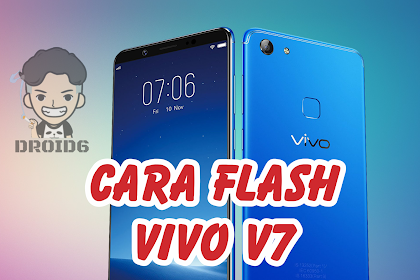 Cara Flash Vivo V7