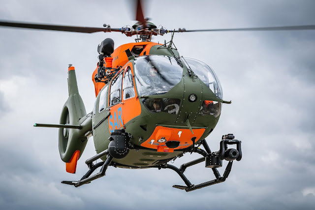 Airbus delivers seventh H145 for the German Armed Forces' Search and Rescue servisse | MORE THAN FLY