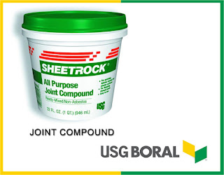Gypsum ceiling material JOINT COMPOUND