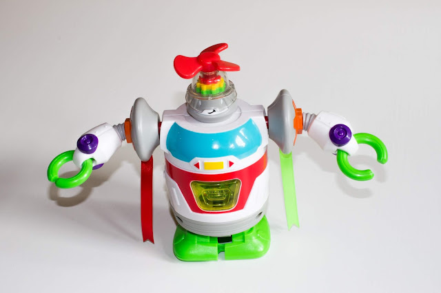 An assembled Little Tikes Builder Bot from the STEM Jr range