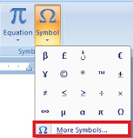 How to Insert, Use Symbols and Special Characters in MS Word in Hindi