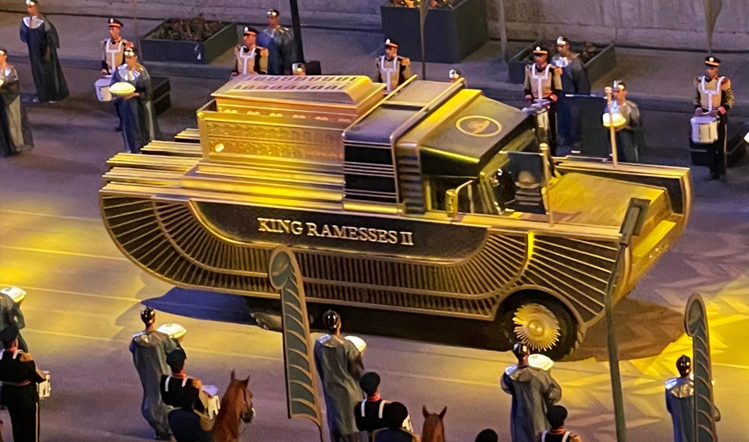 Landmark Golden Pharaoh Parade puts NMEC in focus as a major tourist attraction