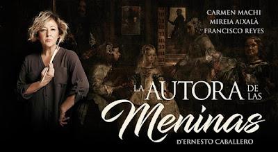 """Carmen Machi, Ernesto Caballero, """"Las Meninas"""", Velázquez"""