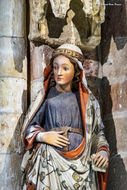 Estatua de la Virgen (Anunciación) - Colegiata de Santa María, Toro