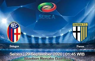 Prediksi Bologna Vs Parma 29 September 2020