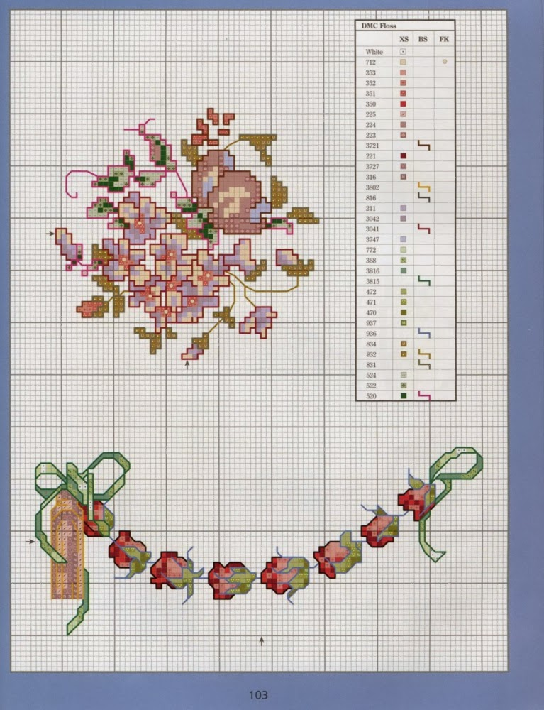 Ricami e schemi a punto croce gratuiti schema punto croce for Punto croce farfalle