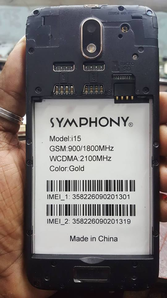 Symphony i15 Flash File Fix Hang Logo & Dead Recovery