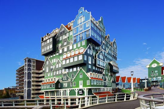 Inntel Amsterdam is a unique hotel from the Netherlands