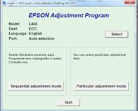 Cara Memperbaiki Printer Epson L455 Service Required