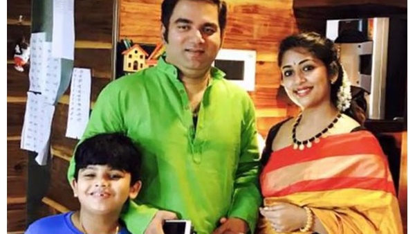 Navya Nair Shares New Picture on Her Son's Birthday Party