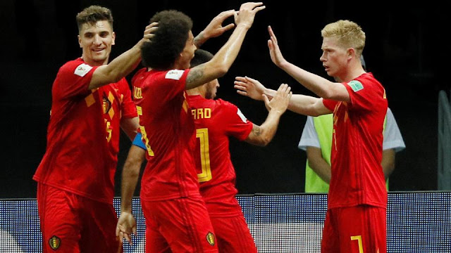 Belgium beat Brazil 2-1 to reach semi-finals