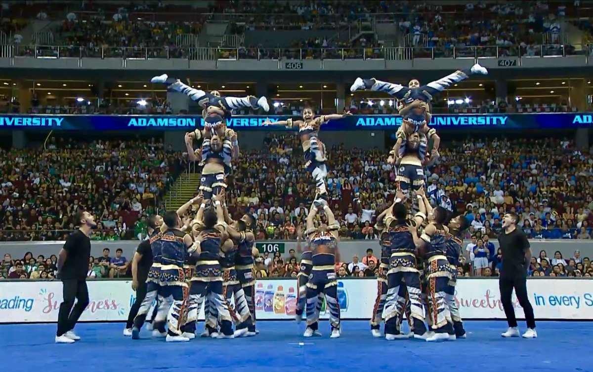 Congratulations to Adamson University Pep Squad - 2018 UAAP second runner-up!