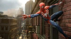 The new Spiderman PS4