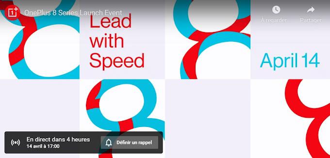 OnePlus 8 et 8 Pro : la conférence à 17 heures