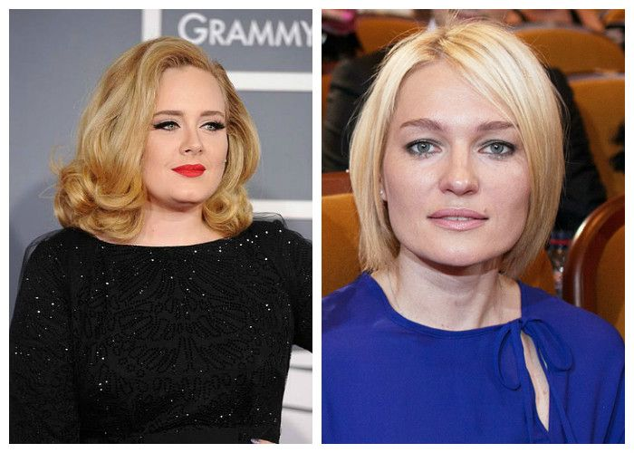 Haircuts for obese women with a square face