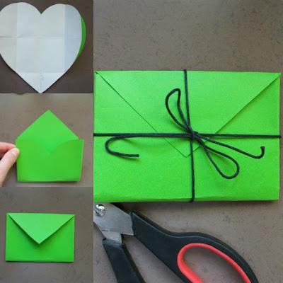ръчно изработен плик за писма