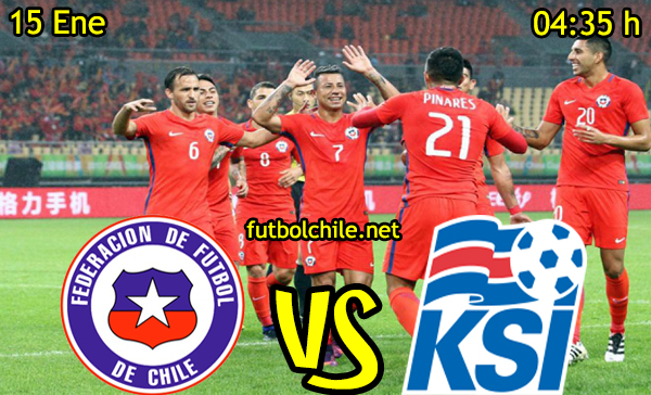 Ver stream hd youtube facebook movil android ios iphone table ipad windows mac linux resultado en vivo, online: Chile vs Islandia