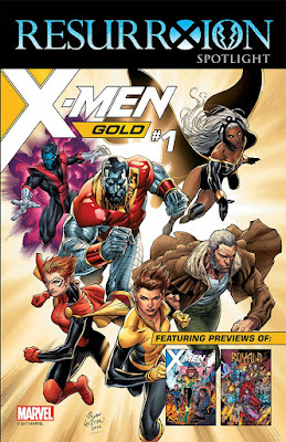 x-men RESURRXION SPOTLIGHT SAMPLER