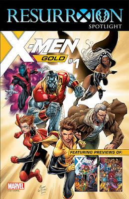 x-men RESURRXION SPOTLIGHT SAMPLER
