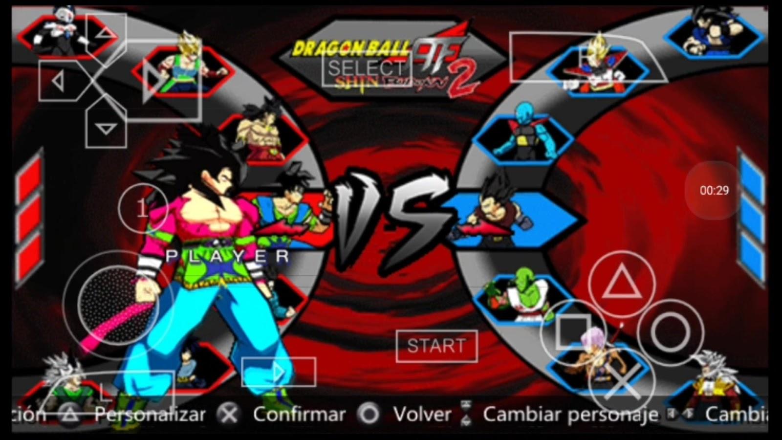 New Dragon Ball Z shin Budokai 2 Absolon mod download