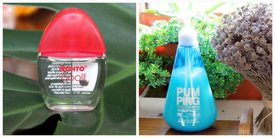 Из заказанного на iherb: зубная паста без фтора Perioe и охлаждающие глазные капли Rohto / обзор,отзывы