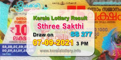 kerala-lottery-results-today-07-09-2021-sthree-sakthi-ss-277-result-keralalottery.info